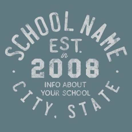Image of spirit gear design idea 1701. We can customize this design in any way to fit your school.