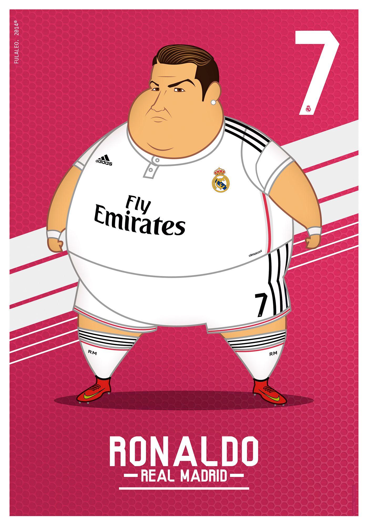 - The five numbers consecutive stars of Real madrid (Fat Version)- Los Cinco números consecutivos estrellas del Real Madrid (Versión Obesa)