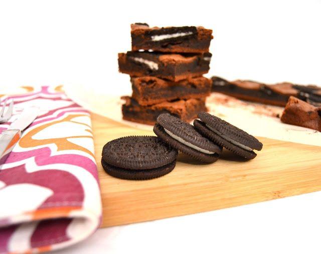 Brownies de Oreo. Negresco.
