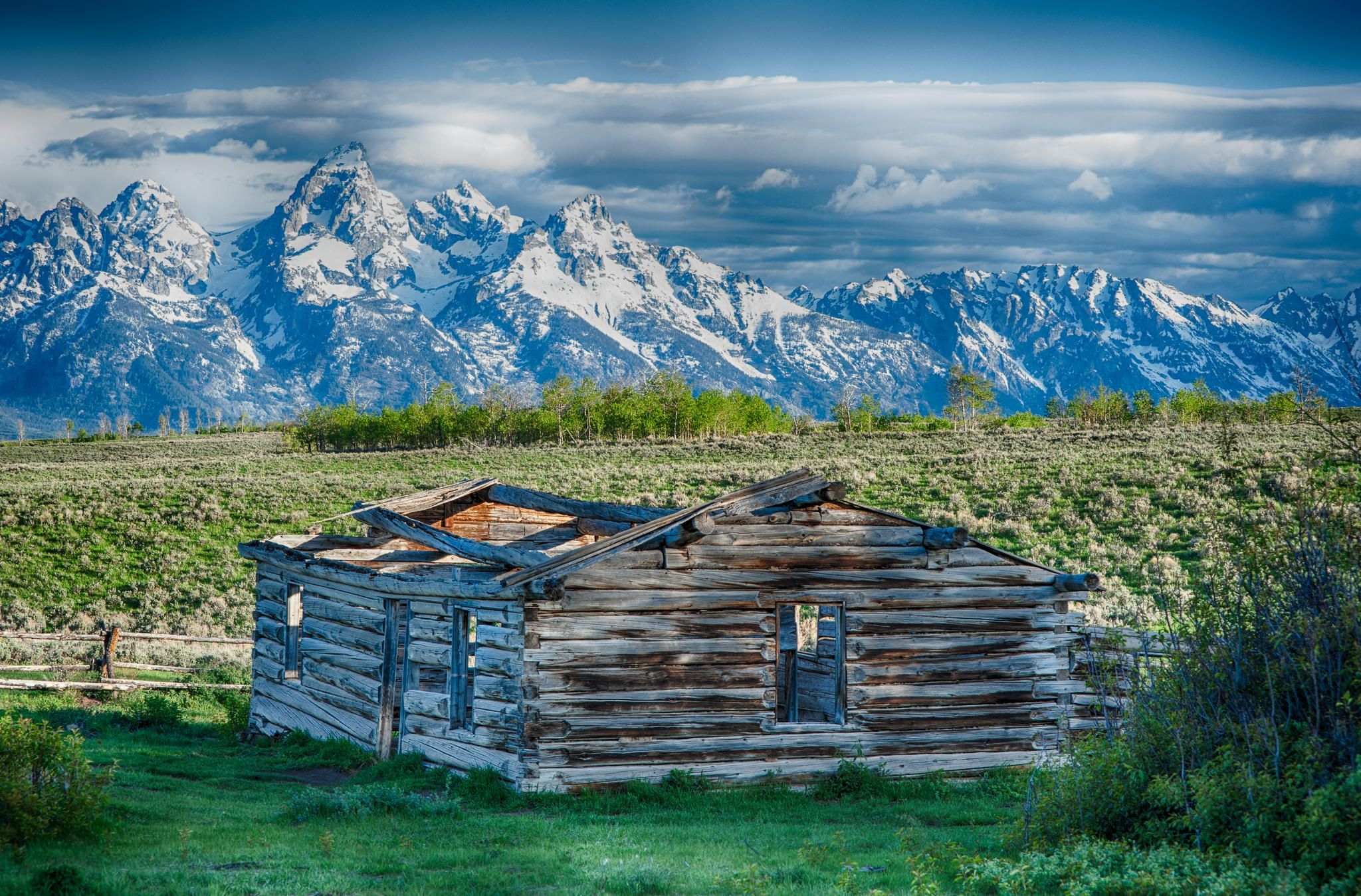 Shanes Cabin Picture - Teton National Park