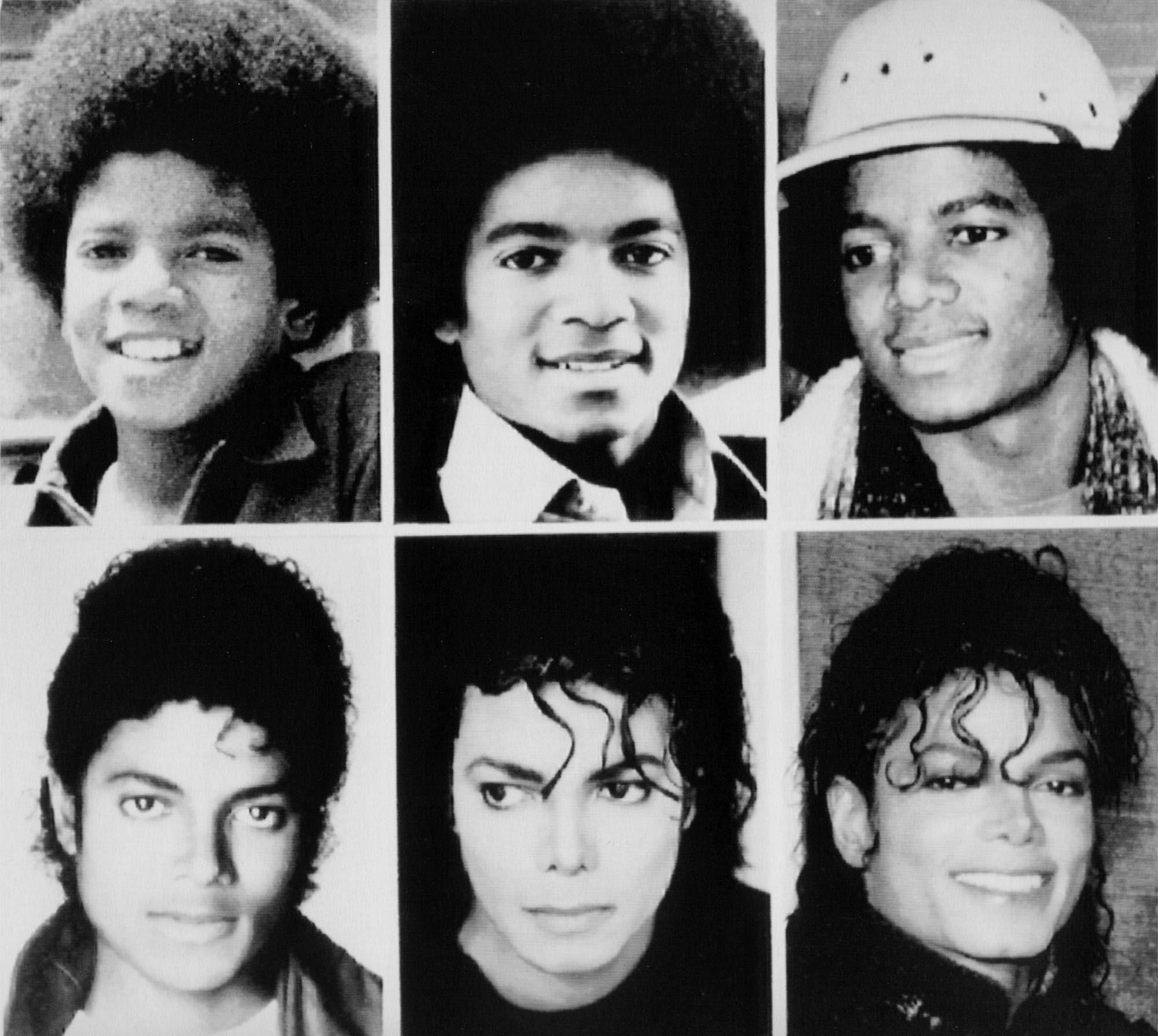 Michael jackson facial transition