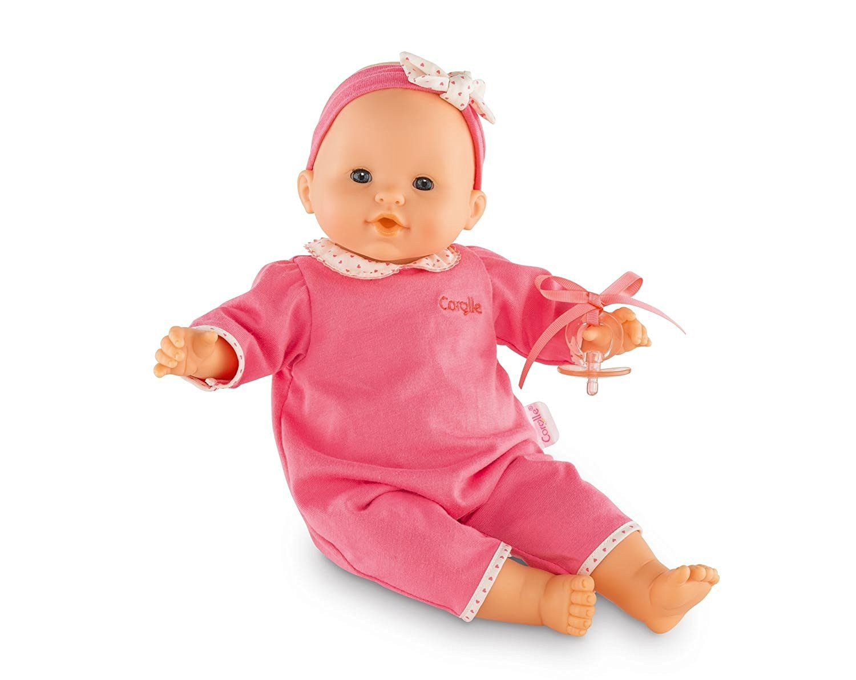 Amazon.com: Corolle Mon Bébé Classique Pink Doll: Toys & Games