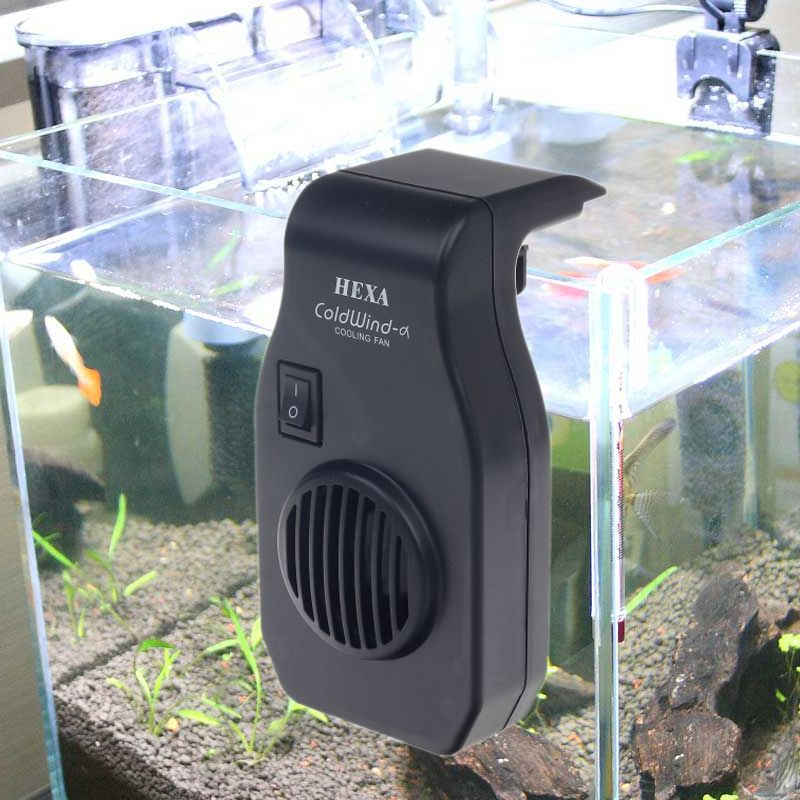 Fishing Cooling Equipment Aquarium Single Head Cooling Fan For