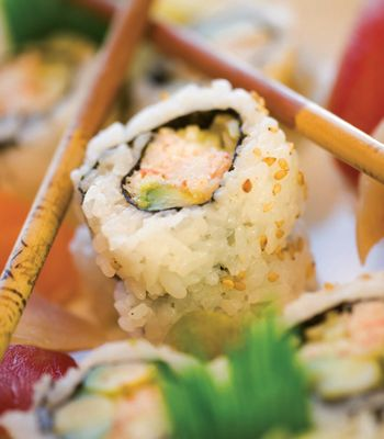 Snow Crab California Roll from Roy's | Food, Healthy ...