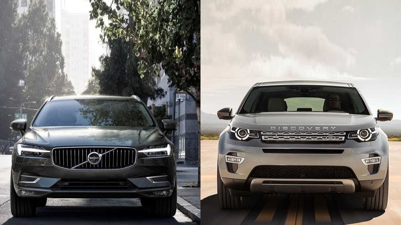 2018 Volvo Xc60 vs 2015 Land Rover Discovery Sport http