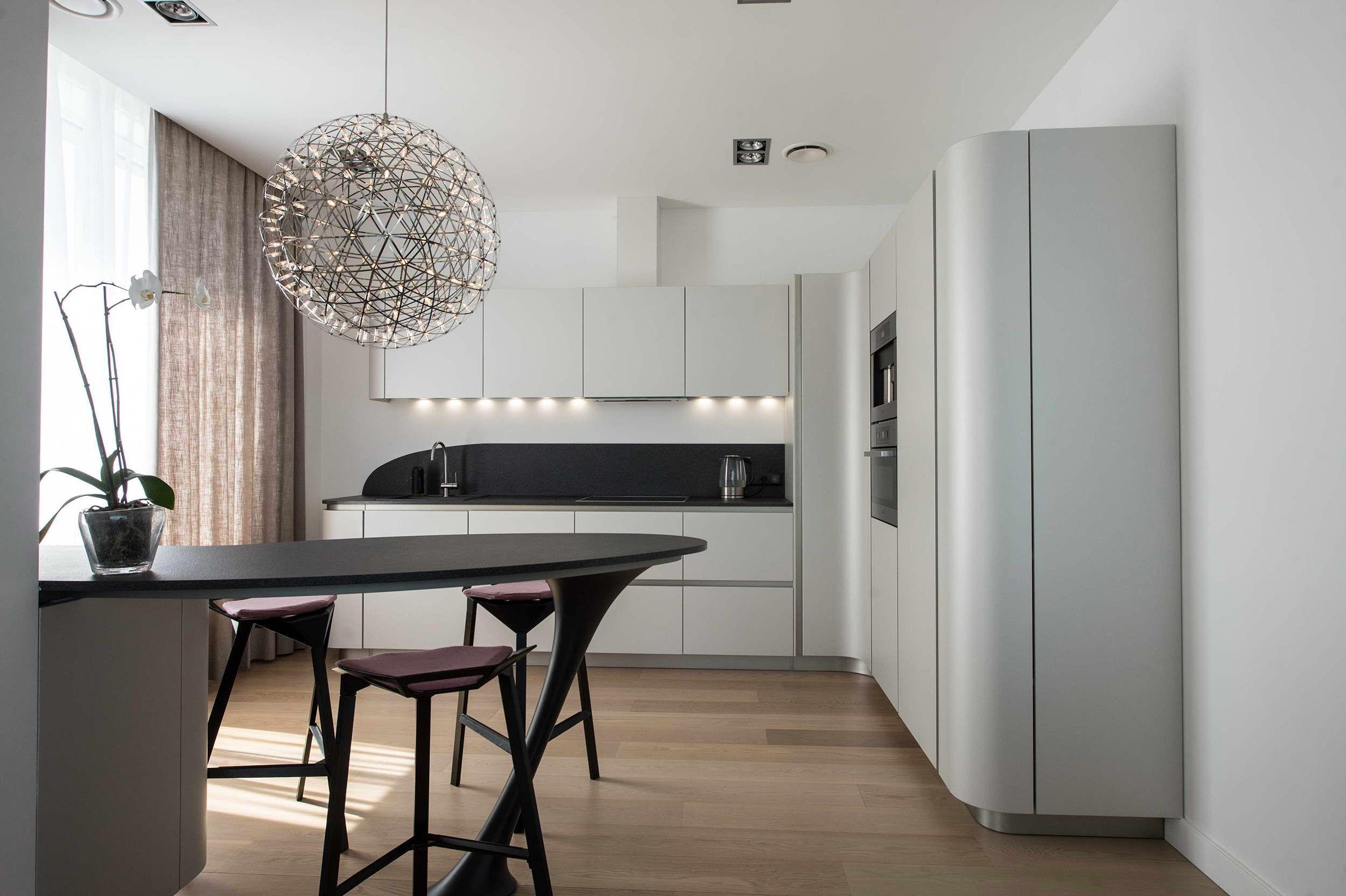 Gorgeous #Snaidero installation in Moscow: Ola 20 #kitchen, design ...