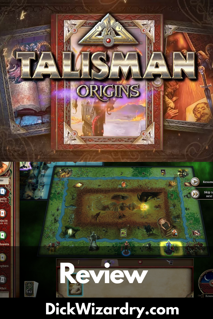 Talisman Origins Review In 2020 With Images Fantasy Board
