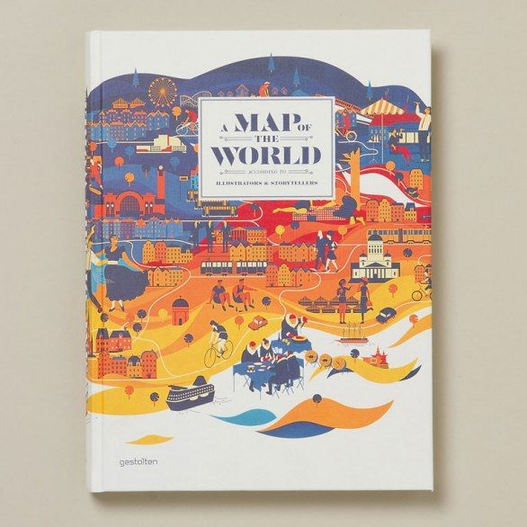 """""""With over 200 pages of colorful illustrated maps, it's hard to imagine a more beautiful book ($60)."""" —@Shoko Wanger"""