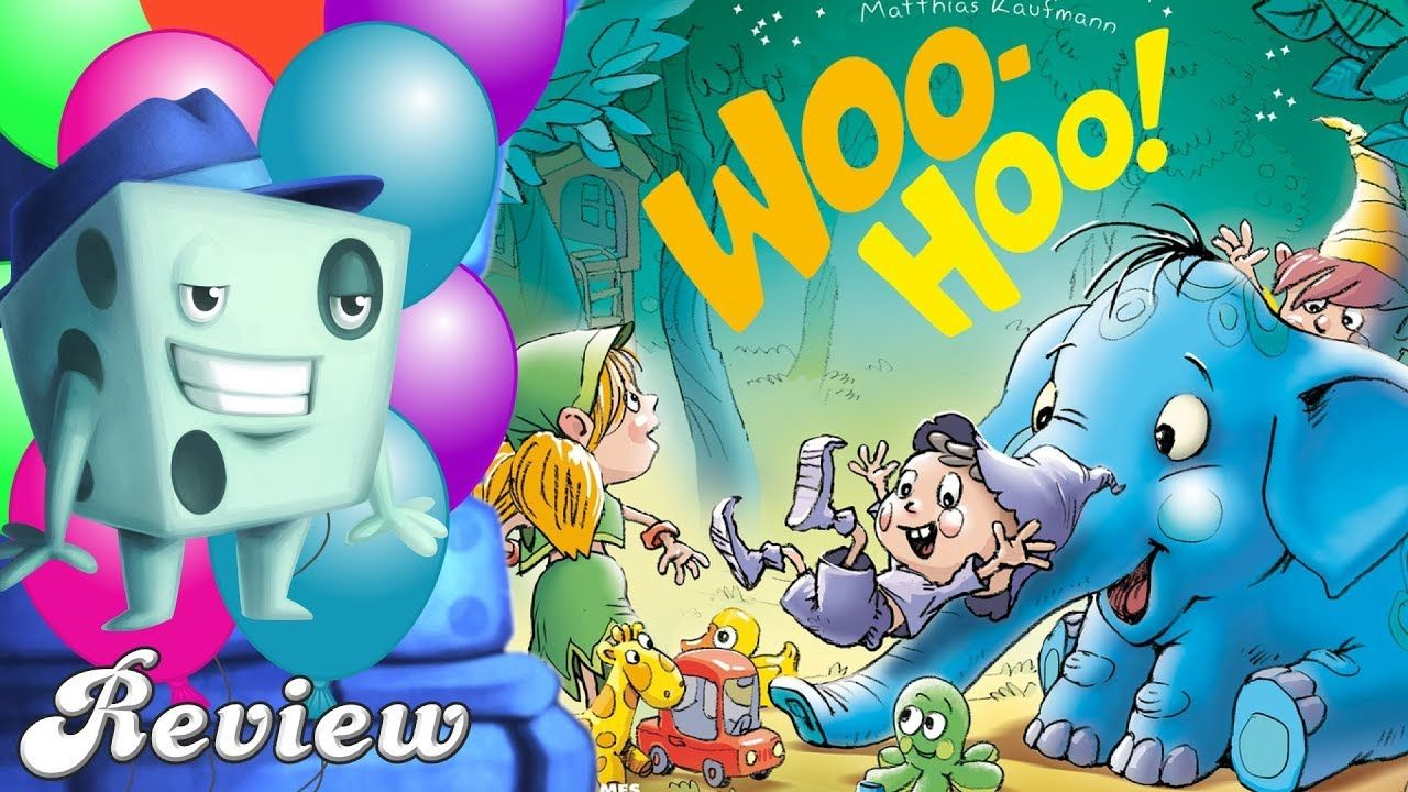WooHoo! Review with Tom Vasel Board games, Woo, Character