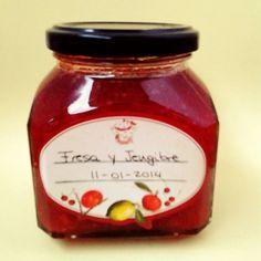 Receta de mermelada de fresa y jengibre