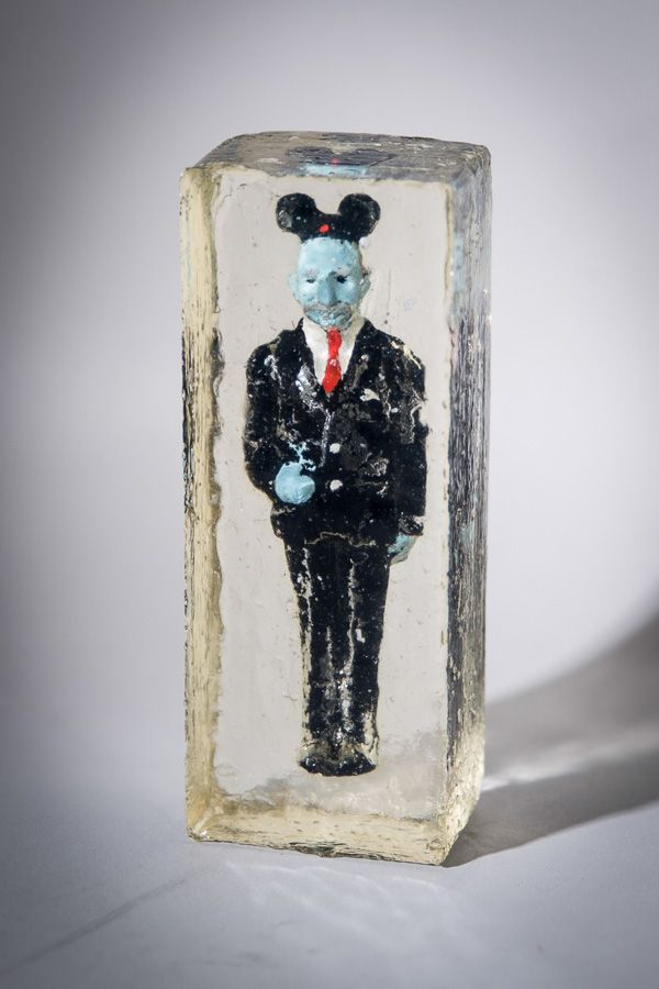 Burt Payne 3 Steven Hillenburg S Frozen Walt Doll Red Tie Edition Limited Edition Of 100 1991 Wax Paint Resin Wit Funny Stuff In There Spong