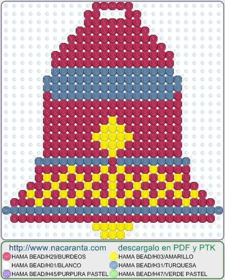ADORNOS-NAVIDAD-4jpg (440×548) alfabeto Pinterest Xmas, Hama