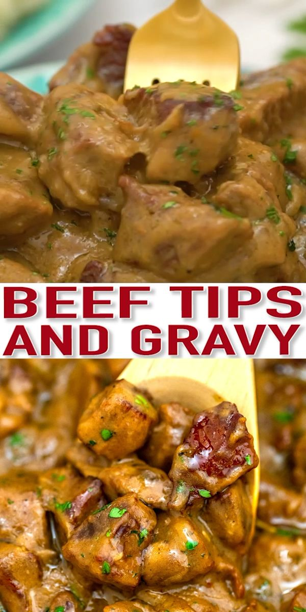 Photo of Beef Tips and Gravy [Video] – Sweet and Savory Meals