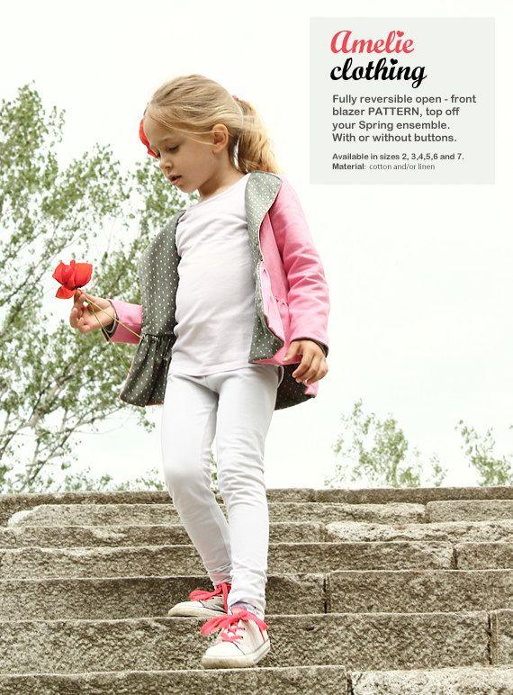 New Nimeni spring / autumn BLAZER pattern - childrn\'s sewing ...