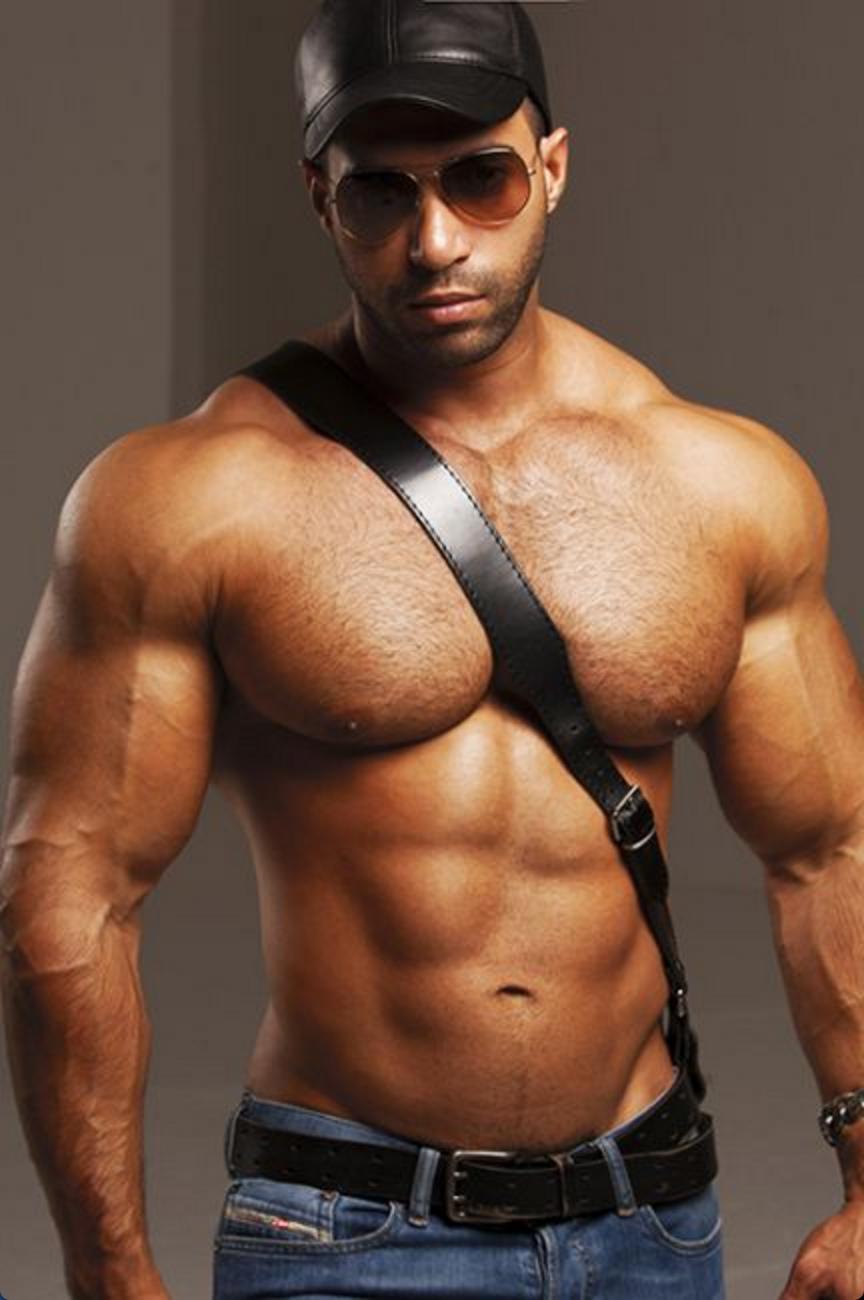 Leather hunk
