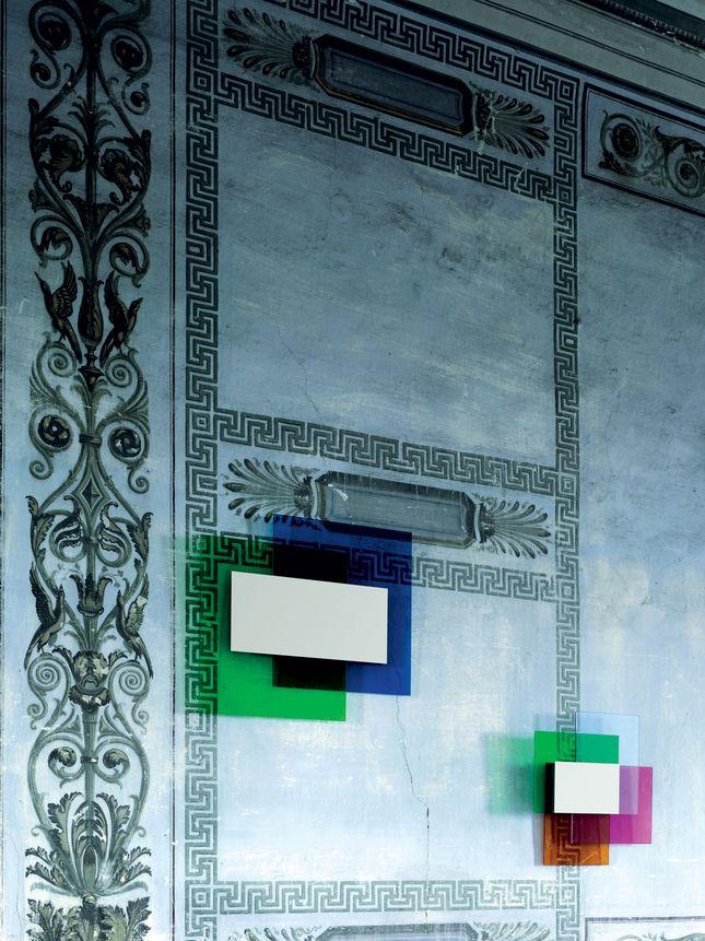 COLOR ON COLOR MIRROR, FOR GLAS ITALIA, 2010-JOHANNA GRAWUNDER