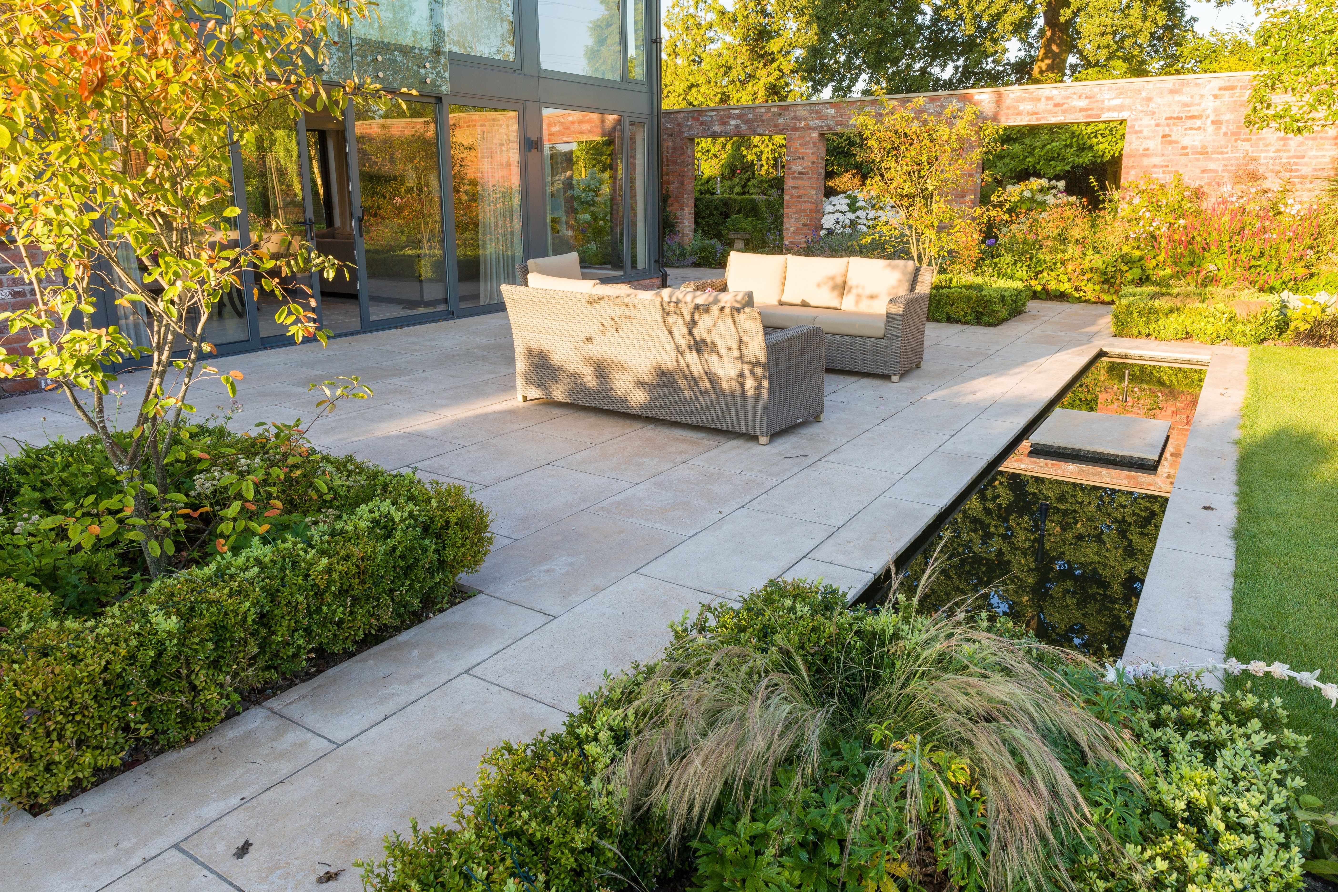 beautiful garden shortlisted in the northern design awards 2016