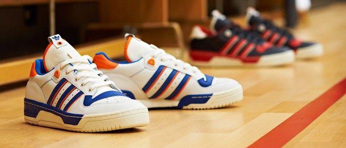rilvalry Lo – Schuhe Herren Adidas, Blau Blau blau