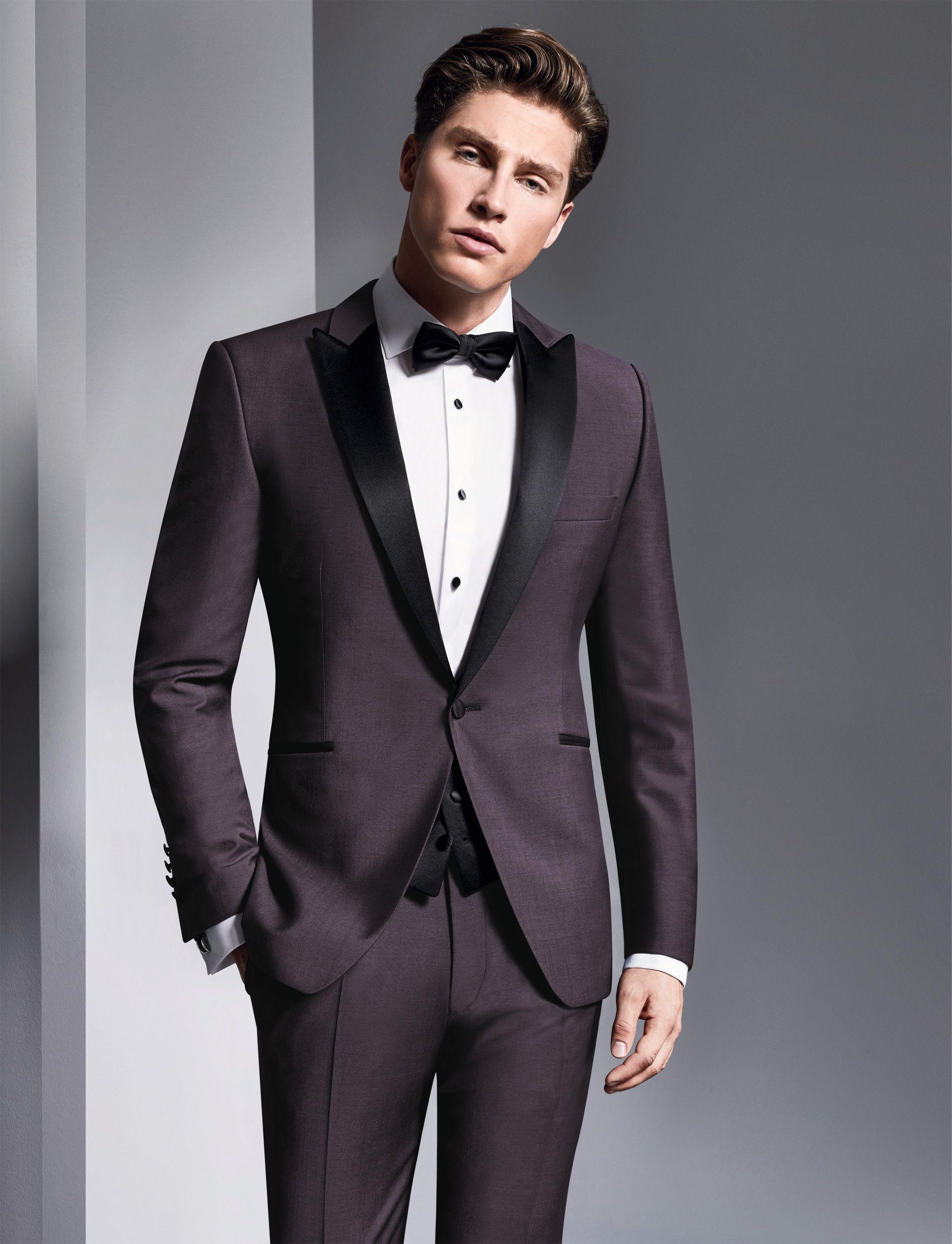 Anzüge & Blazer Elegante Licht Grau Männer Anzug Herren Hochzeit Smoking Für Bräutigam Besten Männer Party Smoking Anzüge 2017 jacke + Hosen + Weste + Krawatte