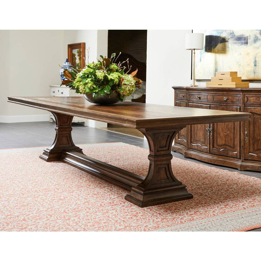 Thoroughbred 120 Admiral S Rectangular Dining Table Traditional