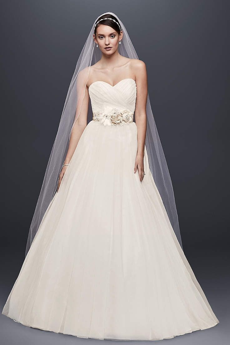 View strapless long wedding dress at davidus bridal possibilities