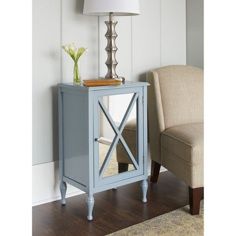 Hollywood Mirrored One Door Accent Cabinet Target Accent Doors Accent Cabinet Hollywood Mirror