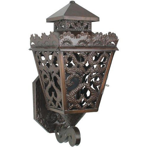 This Intricate Mexican Lacey Tin Sconce Is Expertly Crafted By S In Mexico So Expect Slight Variations Finish