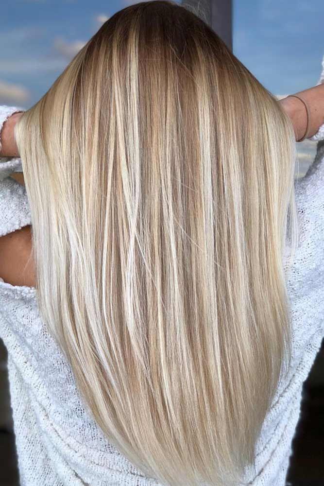 50 platinblonde Haartöne und Highlights für 2019 - Samantha Fashion Life #blondehair