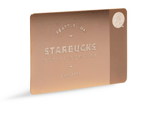 Starbucks Offers Luxury Gilded Gift Cards For The Holidays ...