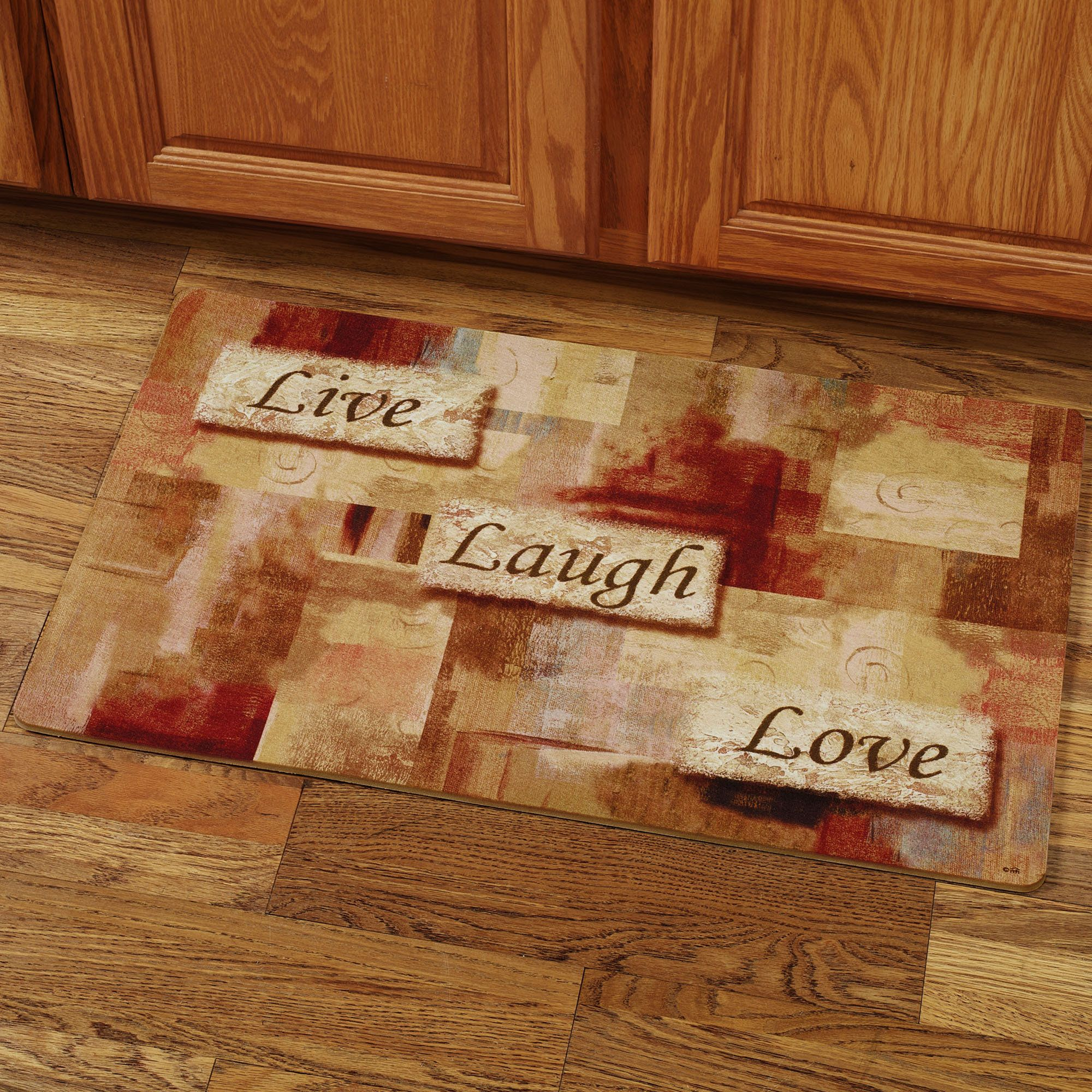 Live laugh love foam kitchen comfort mat kitchen rugs