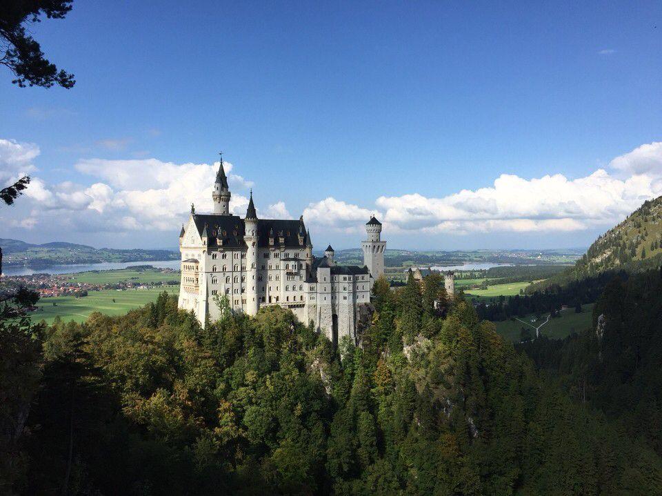 Deutschland Schwangau Ostallgäu Das Schloss Neuschwanstein