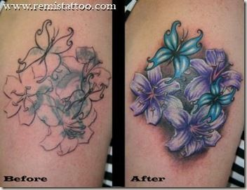 Feminine Cover Up Tattoos | Here are some examples of complete cover ...