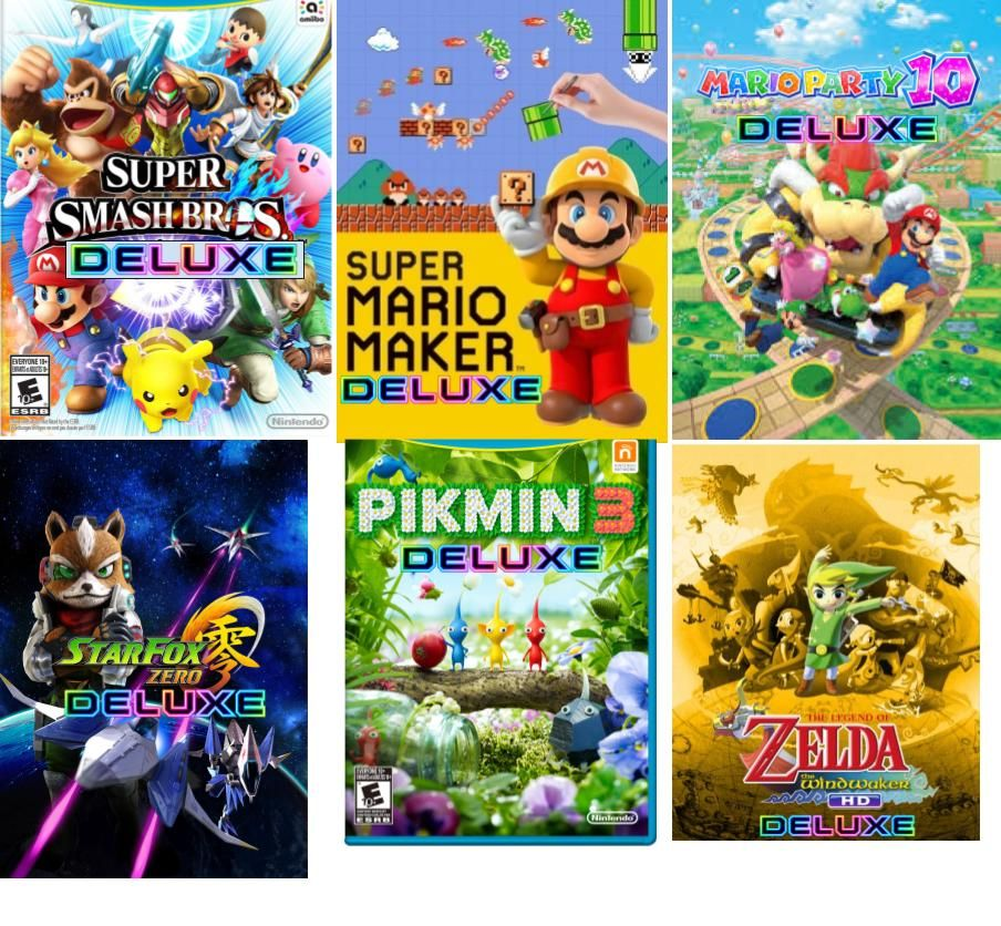 Go Vacation Wii U: Upcomming Nintendo Switch Games
