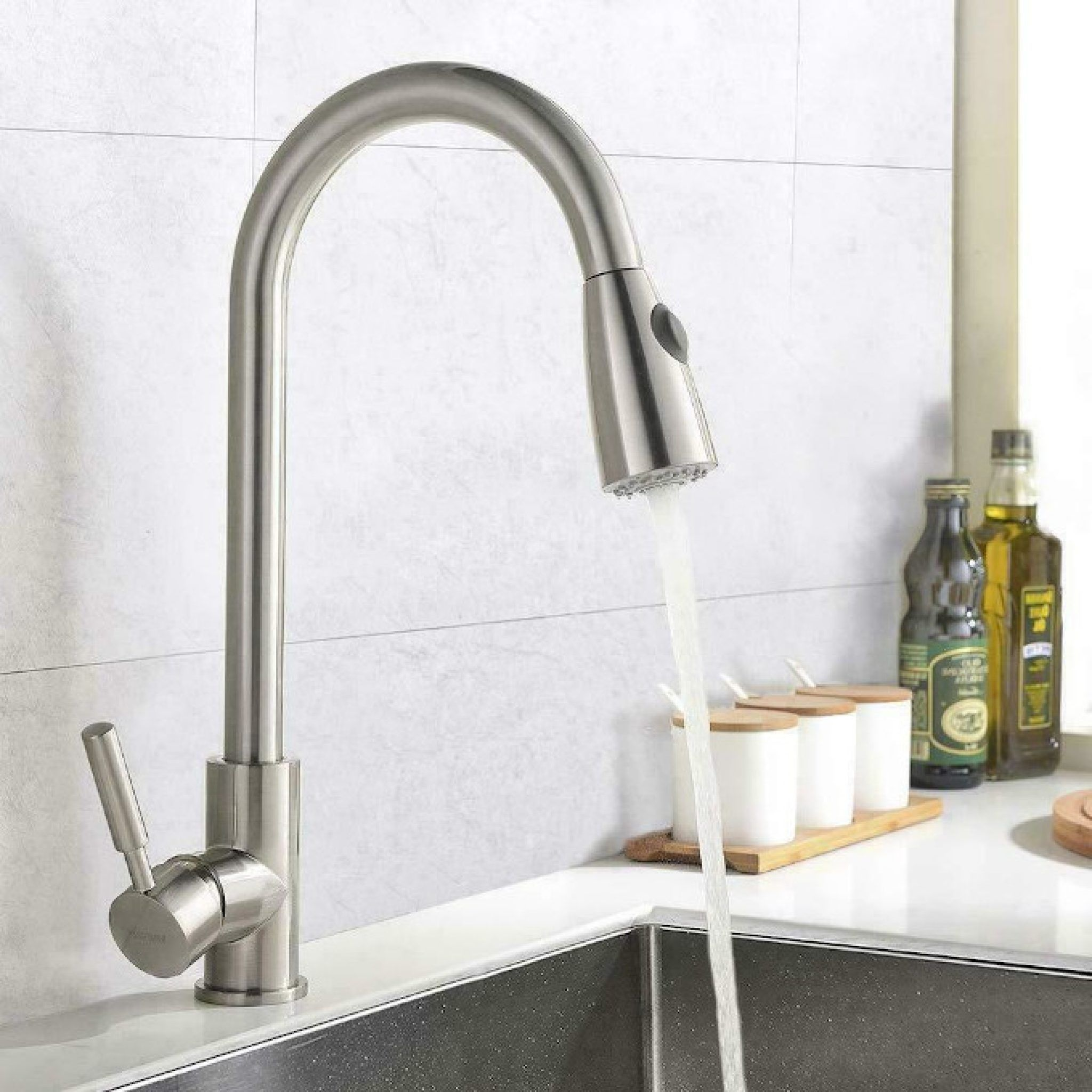 The Best Kitchen Faucets For 2020 With Images Pull Out Kitchen