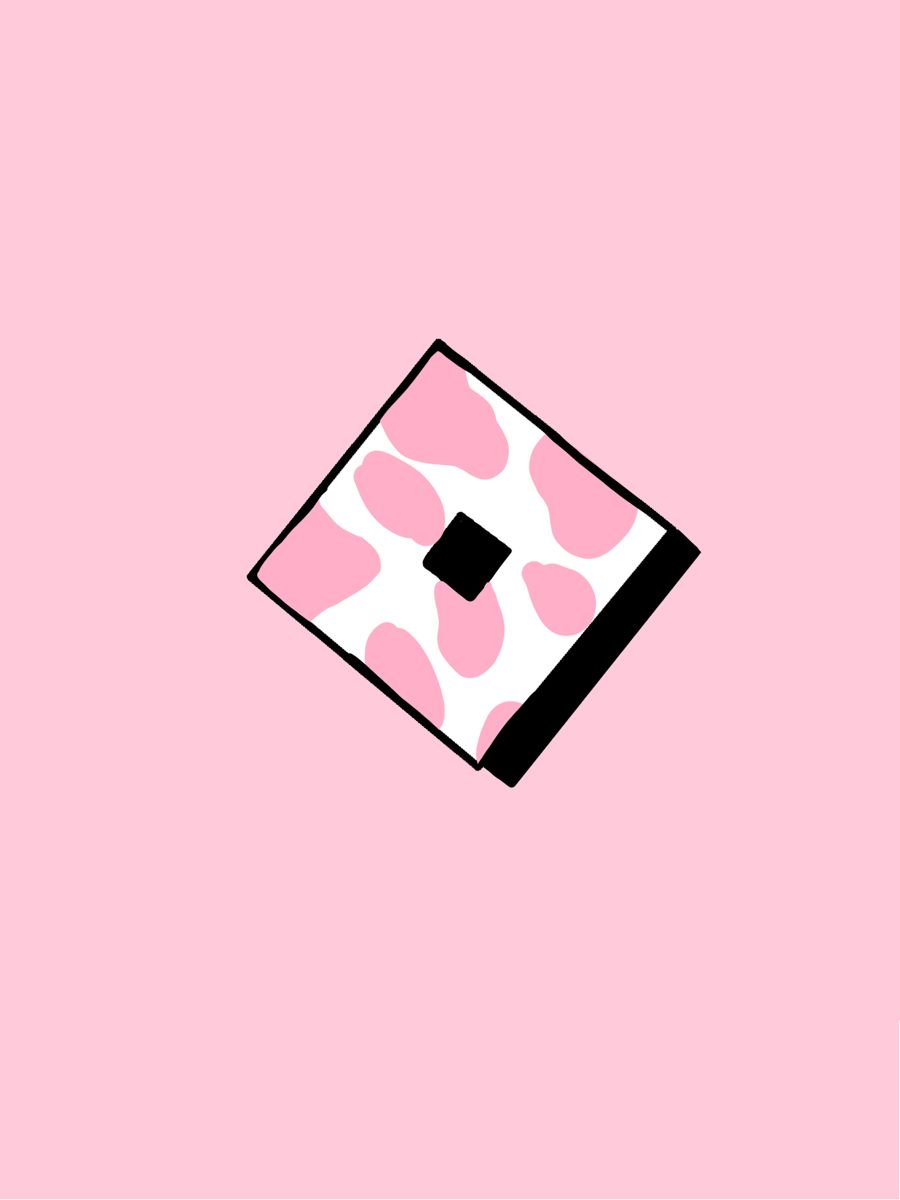 Roblox Strawberry Cow Aesthetic Iphone Wallpaper Baby Pink Aesthetic Roblox