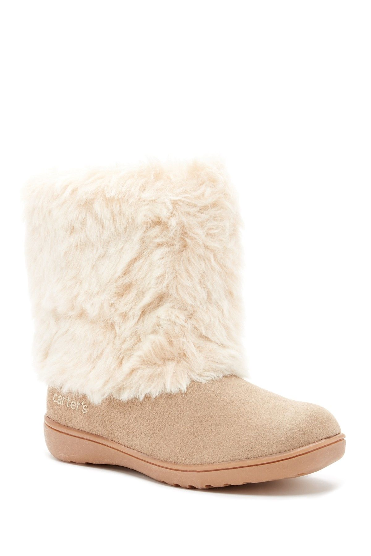 718001107c7 Fluffy Faux Fur Boot (Toddler) | Kids Clothes | Faux fur boots ...
