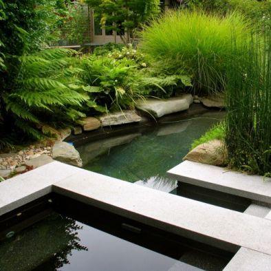 Modern japanese pool garden design definitely zen for Zen pool design