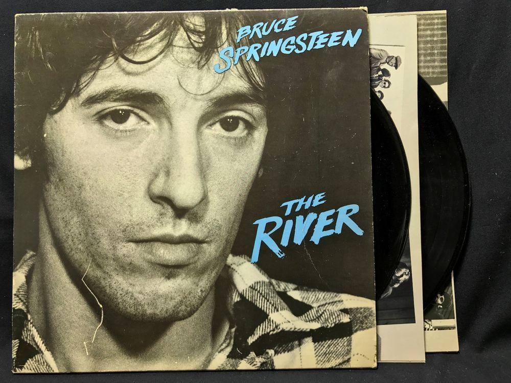 Bruce Springsteen The River Original Columbia Pc2 36854 Lp Vinylrecords Springsteen The River Bruce Springsteen Vinyl Records