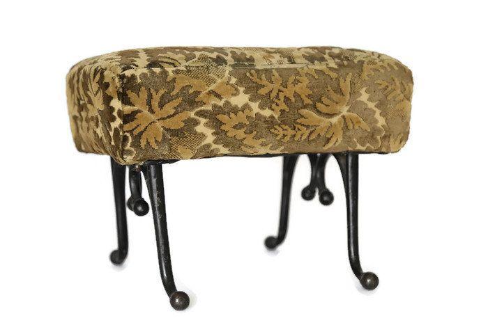 Astonishing Vintage Cast Iron Footstool Antique Iron Leg Footrest Cast Pdpeps Interior Chair Design Pdpepsorg