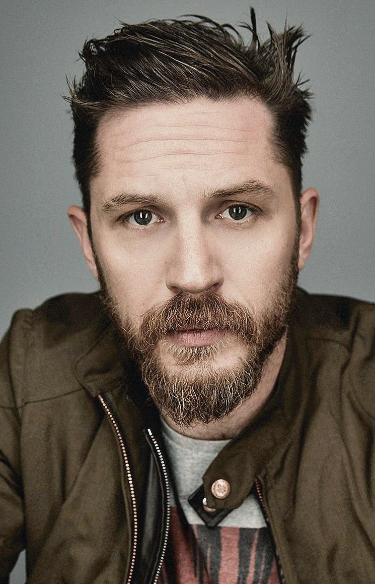 Tom Hardy photographed...