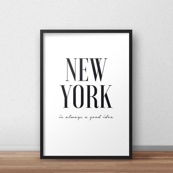 New york is always a good idea Printable di PrintableAtelier