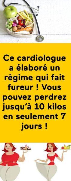 Ce cardiologue a développé une alimentation qui fait fureur! Vous pouvez perdre jusqu'à 10 livres en seulement 7 jours!