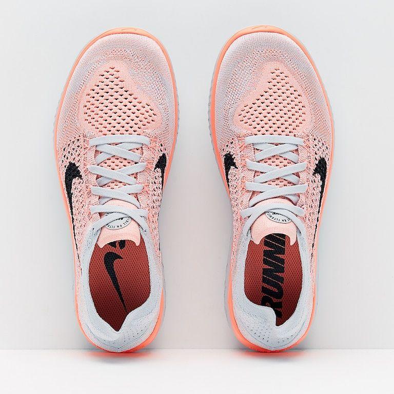 new concept 4ef08 0b6fd Nike Womens Free Run Flyknit 2018 - Crimson Pulse/Black-Pure ...
