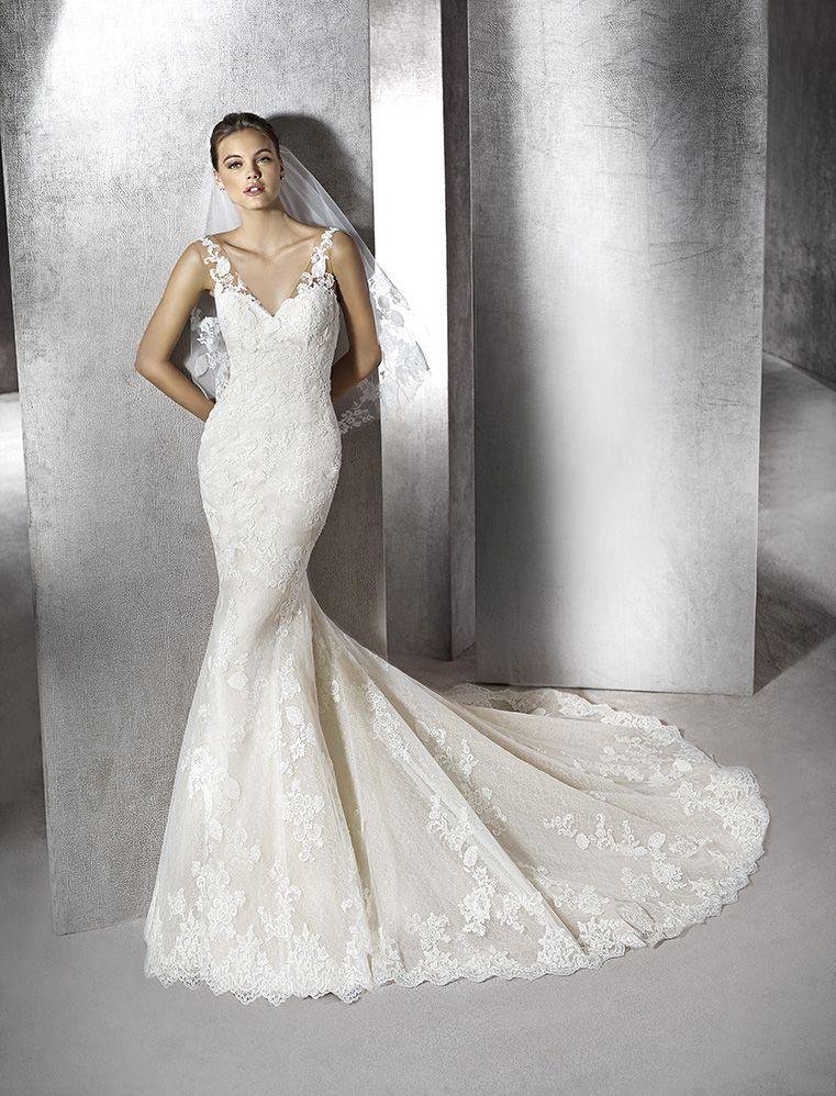 vestido de novia modelo zaret   st. patrick 2016   pronovias fashion