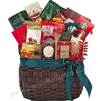 Winter Delights Christmas Gift Baskets Vancouver Bc Canada