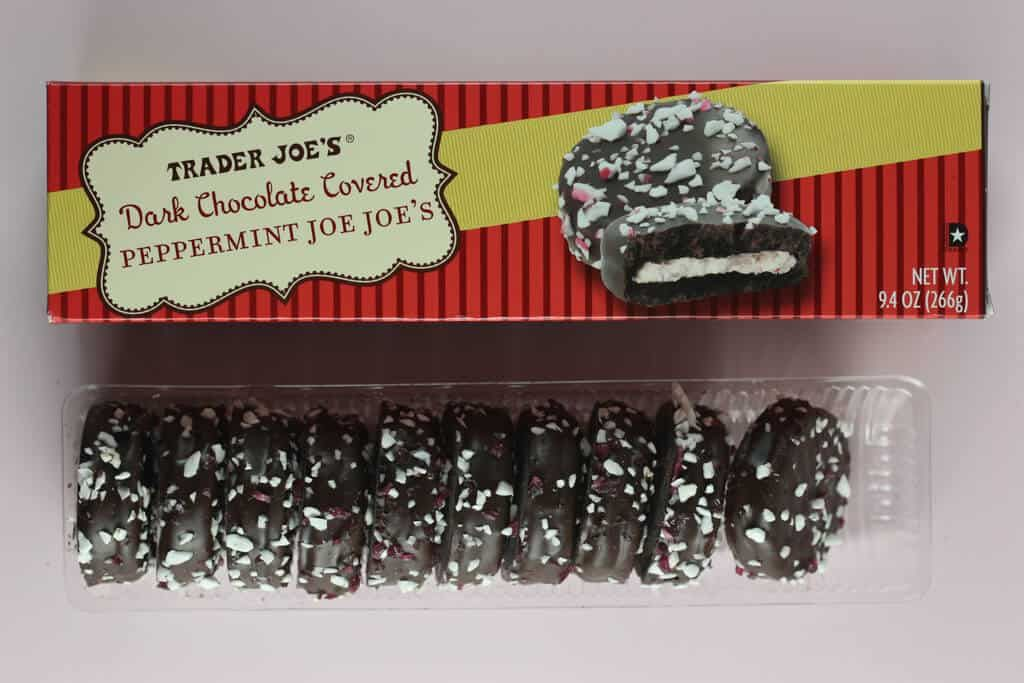 trader joe s dark chocolate covered peppermint joe joe s trader joes peppermint chocolate peppermint cookies dark chocolate covered peppermint joe