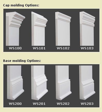 Molding Options Jpg Baseboard Styles Moldings And Trim Baseboards