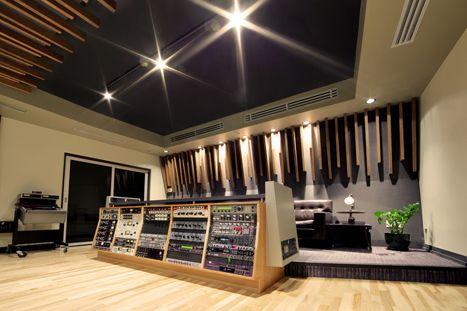 Revolution recording studio, studio B, Toronto