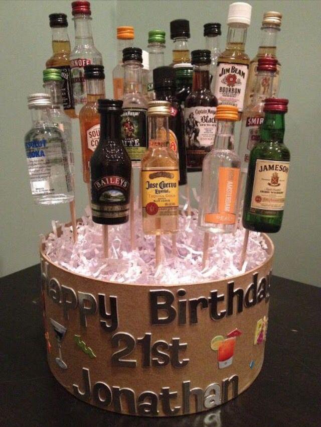 A Guys 21st Birthday Basket Guys 21st Birthday 21st Birthday