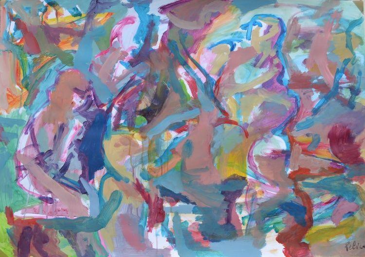 poster et peinture a vendre